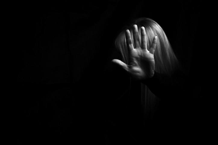 Violence against women concept