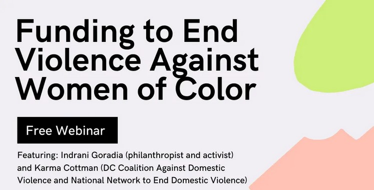 funding to end violence against women of color